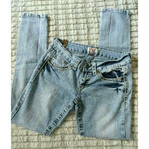 YMI Acid Wash Jeans
